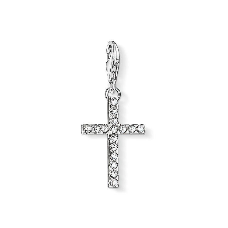 retrouvez le charm croix thomas sabo sur la boutique en ligne bijouterie nephthys. Black Bedroom Furniture Sets. Home Design Ideas
