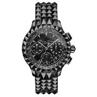 MONTRE REBEL CHRONOGRAPHE NOIR