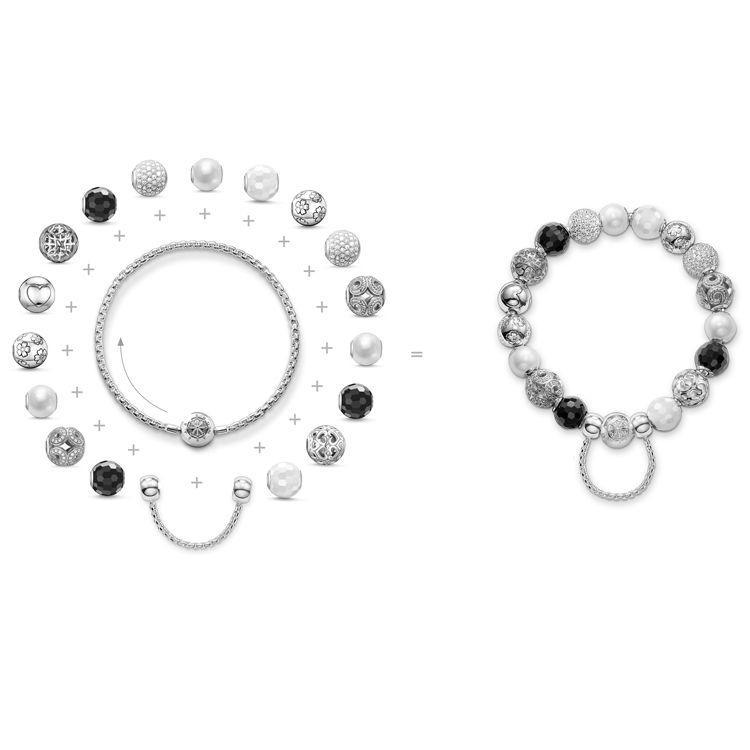 retrouvez le bracelet karma beads thomas sabo sur la. Black Bedroom Furniture Sets. Home Design Ideas