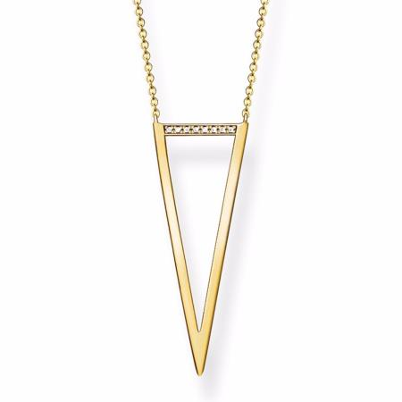Collier Thomas Sabo triangle Diamant